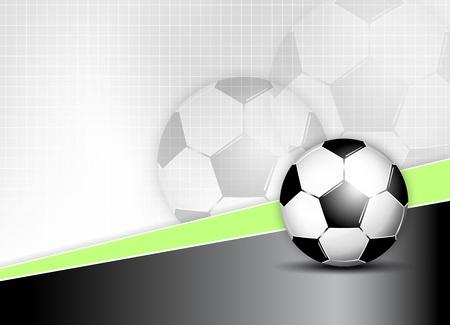 Soccer ball background Stock Vector - 15931547