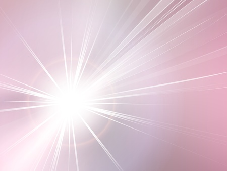 Abstract background pink - starburst - sunburst