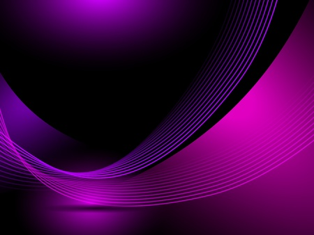techno: Abstract purple background lines Illustration