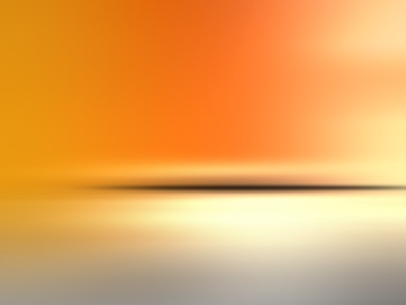 Abstract orange background horizon photo
