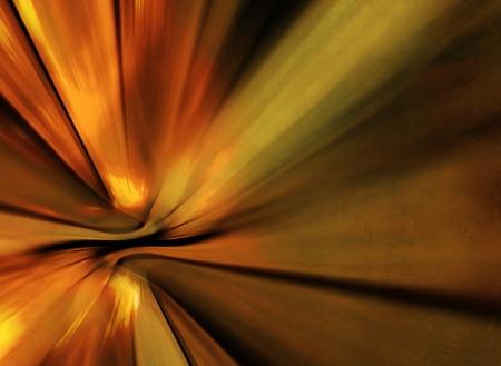radial: Yellow orange abstract ray background - grunge burst design
