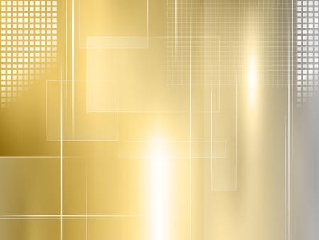 Goldener Hintergrund - abstrakte Luxus-Design Standard-Bild - 18441615
