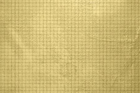chequer: Gold background - grunge design - checked pattern