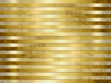 Golden background texture - grunge metal stripes photo