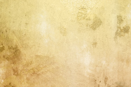 pale: Golden background - gold texture Stock Photo