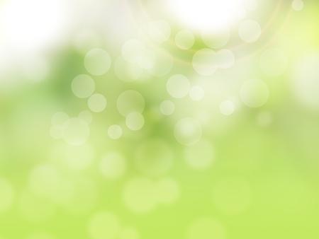 Grüne abstrakte Frühjahr Hintergrund Lizenzfreie Bilder