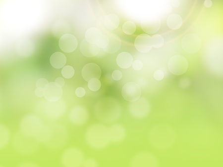 Green abstract spring background photo