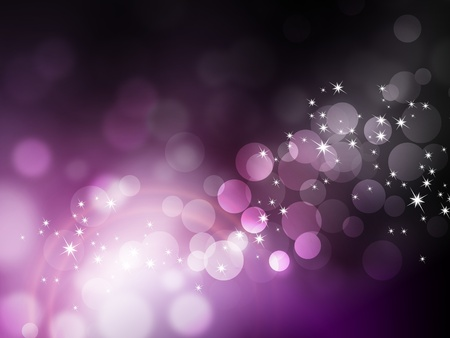 Purple background - abstract festive bokeh pattern photo