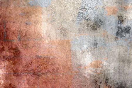 scruffy: Colorful abstract background - grunge style