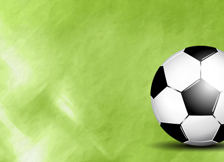 footie: Soccer ball on field