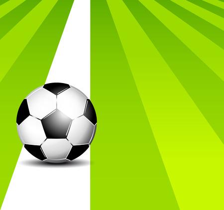 footie: Soccer field  Illustration
