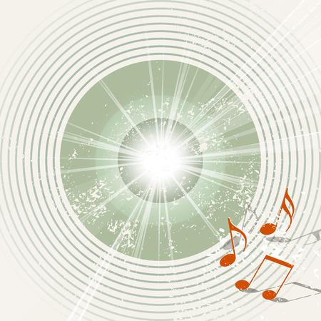 locandina arte: Musica Retro background - Poster vintage arte - template grunge partito Vettoriali