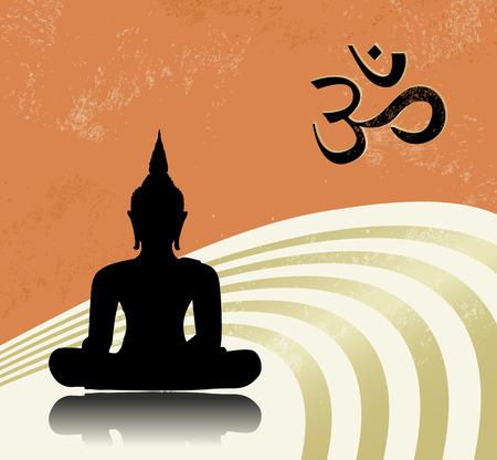Buddha Stock Vector - 27382879