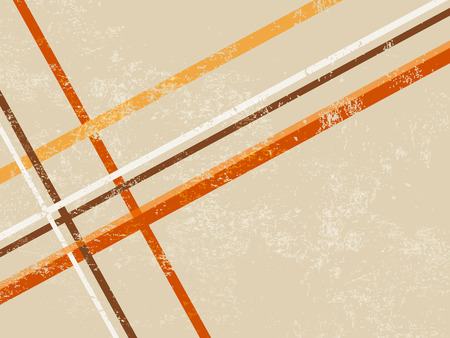 Retro background with abstract lines Stock Illustratie