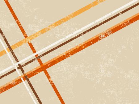 Retro-Hintergrund mit abstrakten Linien Standard-Bild - 30423013