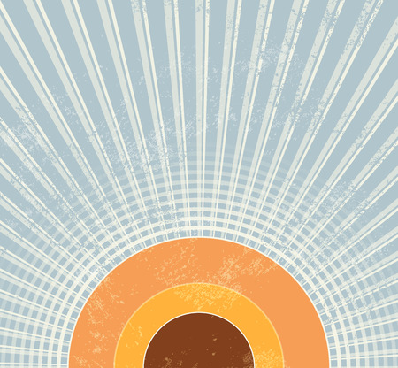Retro starburst background Ilustrace