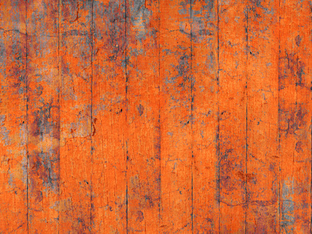 painted wall: Bright orange grunge background
