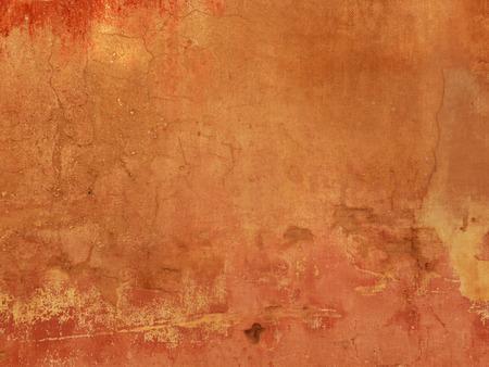 グランジ テクスチャ - テラコッタ背景 写真素材