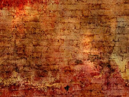 Grunge brick wall background texture photo