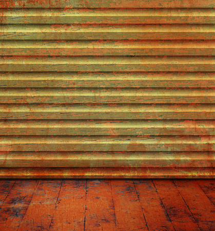 floorboard: Grunge room with wood background texture and old floorboard