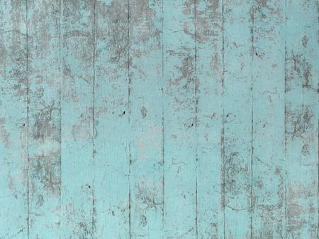 ブルー グリーン ・木製柄 写真素材