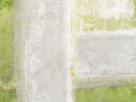 抽象的な灰色緑背景の壁