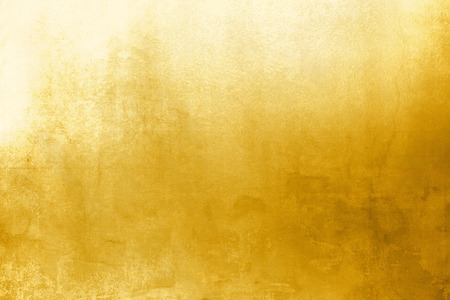 textured paper: Gold background texture Stock Photo