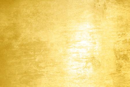 Polished oro texture - astratto sfondo giallo Archivio Fotografico - 34517020