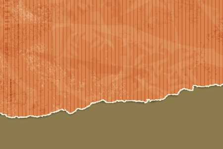torn edges: Orange paper background with torn edges