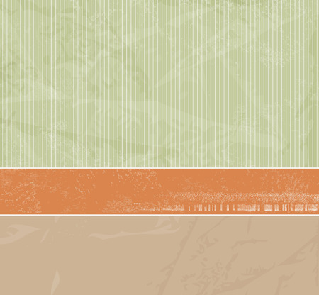 40s: Abstract retro background with soft striped pattern and banner