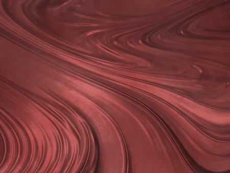 brown swirl: Red wavy background - abstract liquid Stock Photo