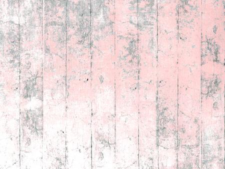 木材の背景をピンクに塗った 写真素材
