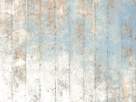 drewniane: Malowane drewno niebieskim tle