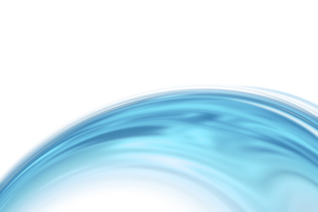 papel tapiz turquesa: Aislado Onda azul