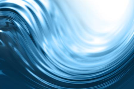 Blue Water Welle Hintergrund Standard-Bild