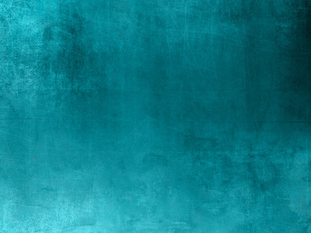 Blue green background texture in grunge style Stock Photo