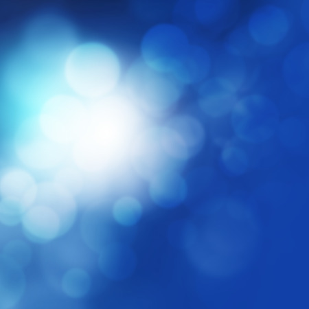 dazzle: Blurred lights background blue Stock Photo