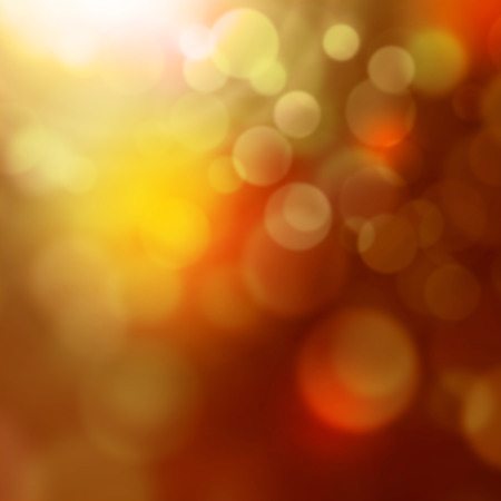 flicker: Colorful lights - abstract blurred background with bokeh effect