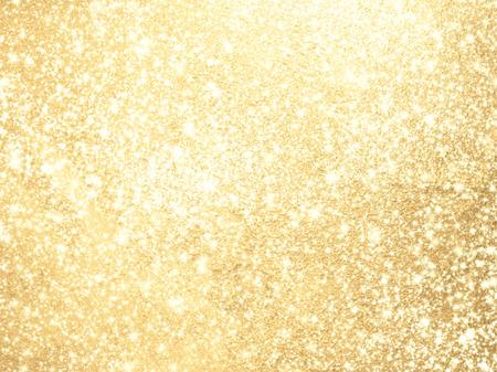 Sparkling background gold - abstract lights Standard-Bild