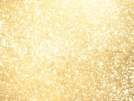 Sparkling background gold - abstract lights Stockfoto