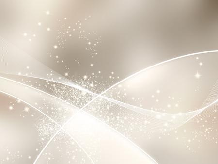 Sparkle Hintergrund beige mit abstrakten Linien Standard-Bild - 49003209