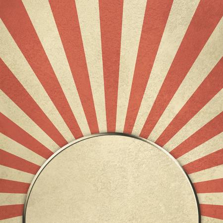 抽象的なレトロな背景のスター バースト 写真素材