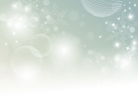 Abstract winter background in soft retro colors with bokeh lights