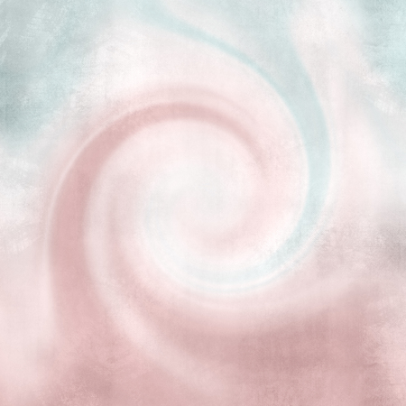 soft colors: Pink abstract wavy retro design - twirl background in soft vintage colors - curved lines