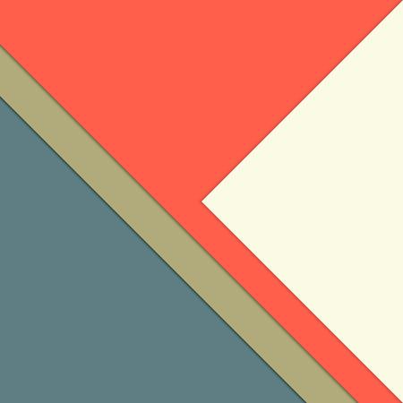 minimalist: Paper layer template - multicolored minimalist background