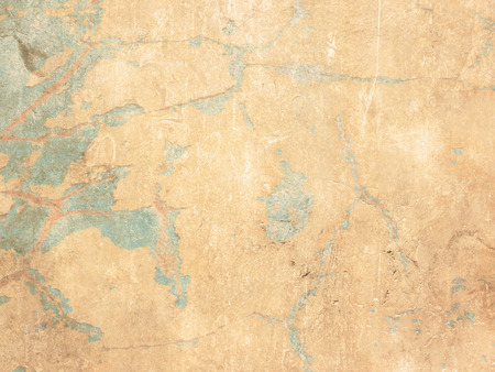 mural: Grunge background wall texture with cracks Stock Photo