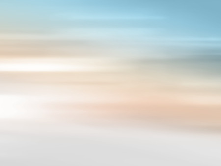 Soft gradient background - beach horizon abstract - blurred morning light
