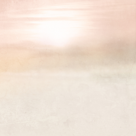 idyll: Dreamy background - abstract blurred landscape in soft pink vintage style with color gradient