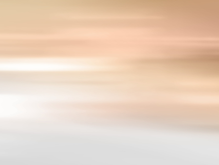 horizon: Morning sun - abstract horizon background gradient with soft yellow light