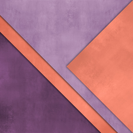 purple abstract background: Abstract purple orange background - colorful paper layers